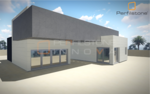Pasamos de los detalles a la Visualización Arquitectónica de todo el proyecto.